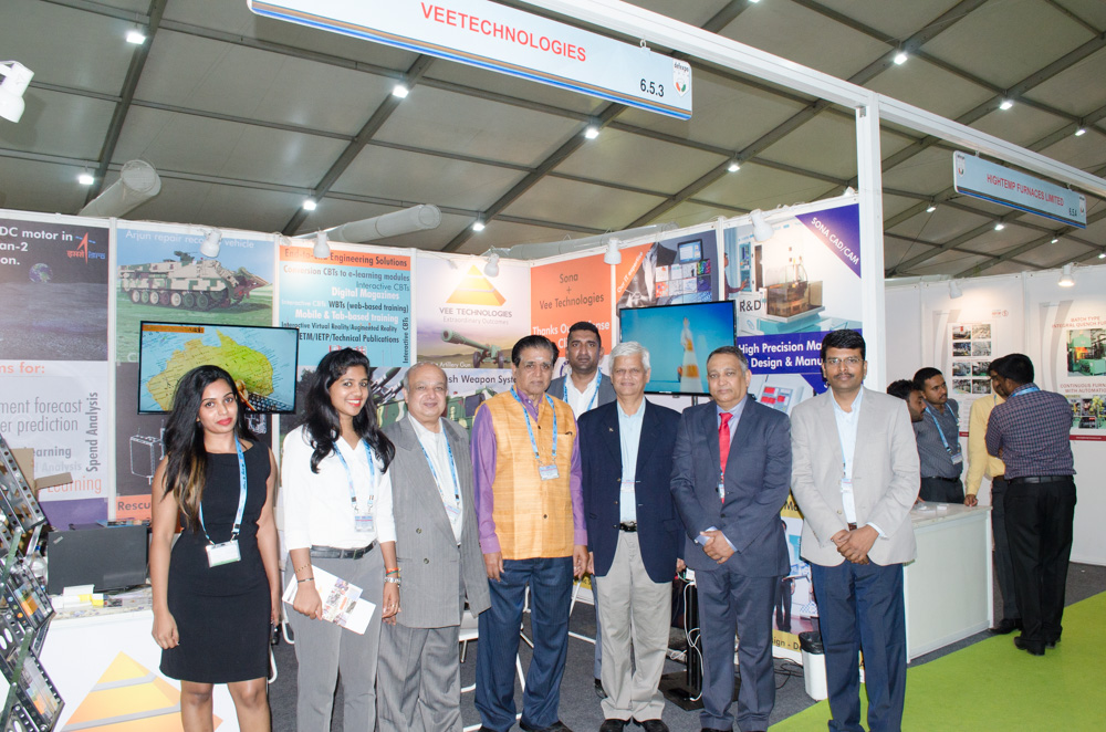 Vee Technologies Makes an Impact at DefExpo 2018