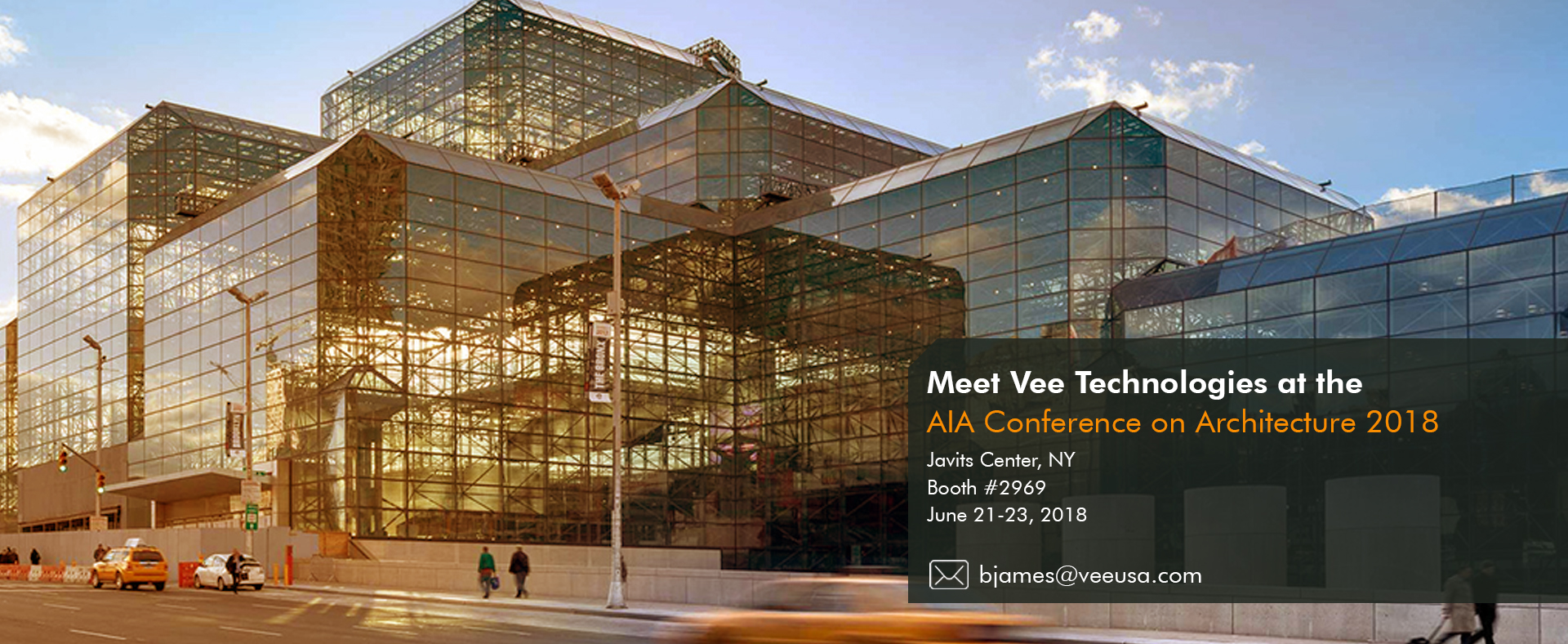 Vee Technologies at A18 - AIA Conference on Architecture 2018