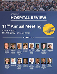 Becker's Hospital Review 11th Annual Meeting
