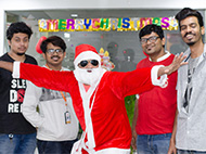 Christmas Celebration at Vee Technologies - 2017