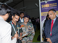 Vee Technologies at the DefExpo 2018